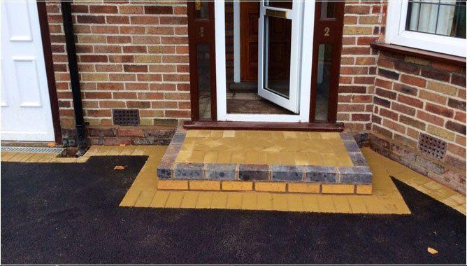 1 ... & Decorative Doorway Patterns u0026 Brick Door Steps pezcame.com