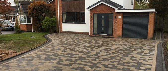 Stunning New Cobbled Driveway in Walsall