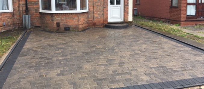 New Driveway in Hall Green, Solihull