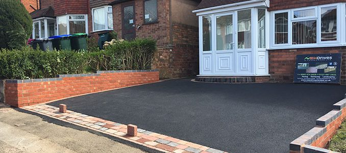 New Tarmac Driveway in Sutton Coldfield